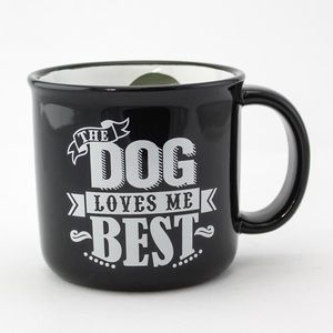 Other - [NEW] DOG LOVES ME BEST Mug